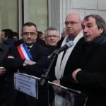 Rassemblement élus train 2 déc 2014 (4)