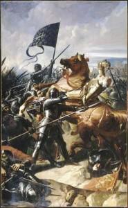 La mort du Général Anglais Talbot